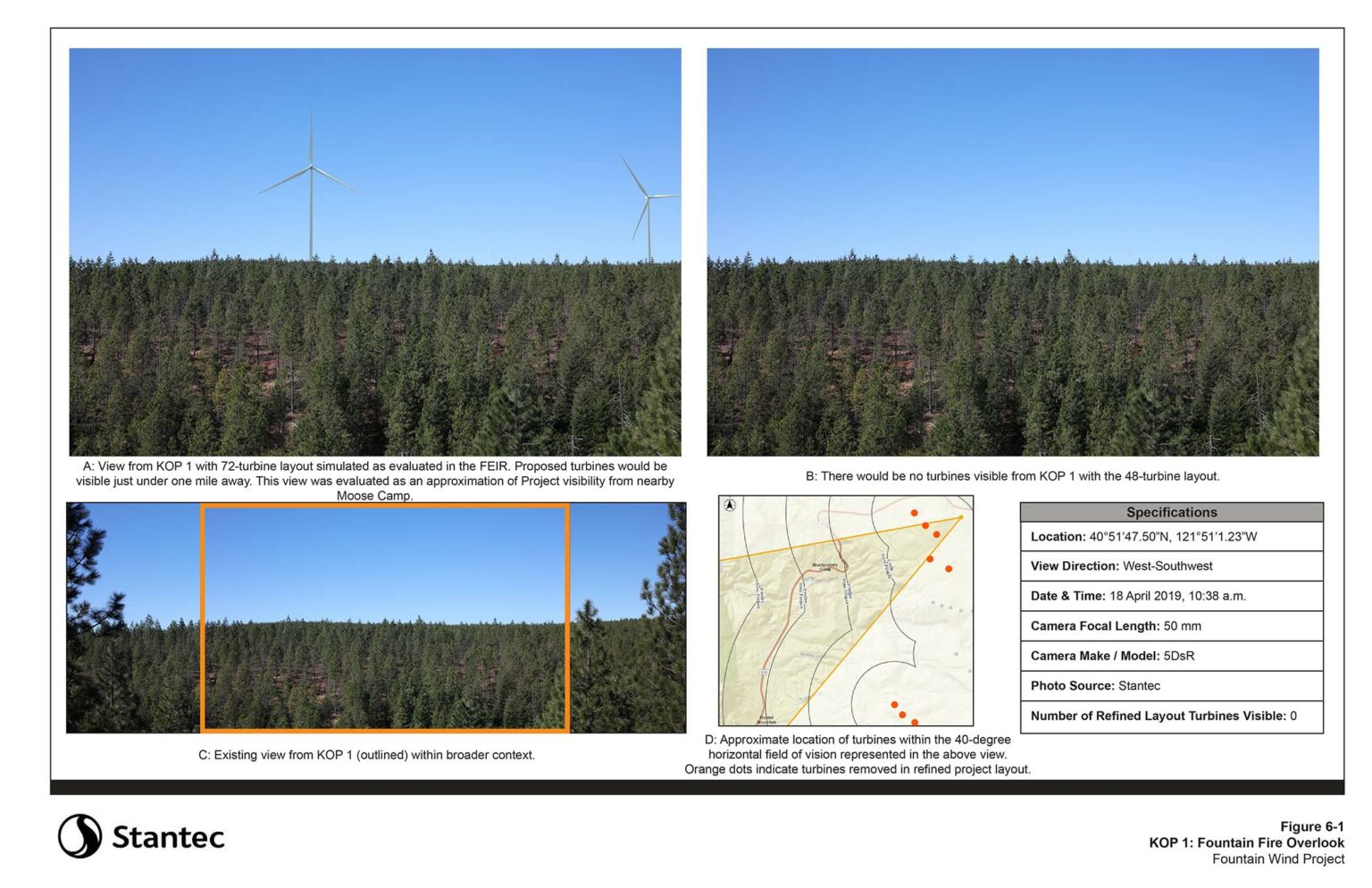 Fountain Fire Overlook (Moose Camp Road, South of SR299) - OVERVIEW